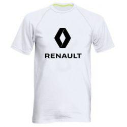 Чоловіча спортивна футболка Renault logotip