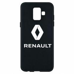 Чохол для Samsung A6 2018 Renault logotip