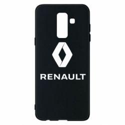 Чохол для Samsung A6+ 2018 Renault logotip