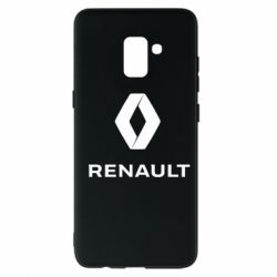Чохол для Samsung A8+ 2018 Renault logotip