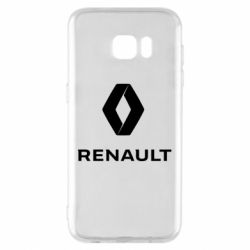 Чохол для Samsung S7 EDGE Renault logotip