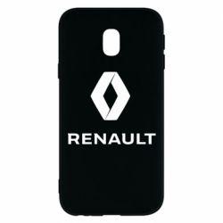 Чохол для Samsung J3 2017 Renault logotip