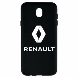 Чохол для Samsung J7 2017 Renault logotip