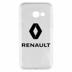 Чохол для Samsung A3 2017 Renault logotip