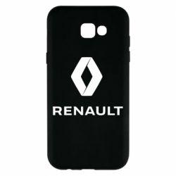 Чохол для Samsung A7 2017 Renault logotip