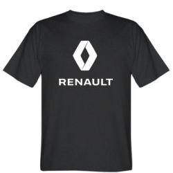 Чоловіча футболка Renault logotip