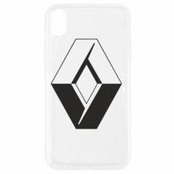 Чехол для iPhone XR Renault
