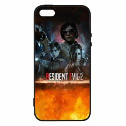 Купить Чехол для iPhone5/5S/SE RESIDENT EVIL 2: Remake, FatLine