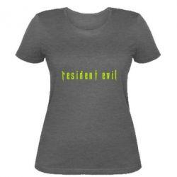 Жіноча футболка Resident Evil