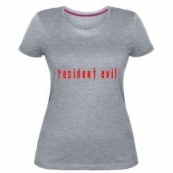 Жіноча стрейчева футболка Resident Evil