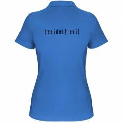 Жіноча футболка поло Resident Evil