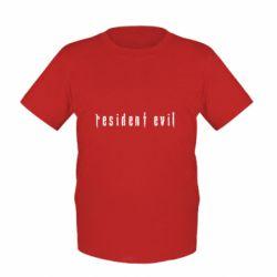 Дитяча футболка Resident Evil