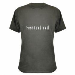 Камуфляжна футболка Resident Evil