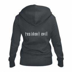 Жіноча толстовка на блискавці Resident Evil