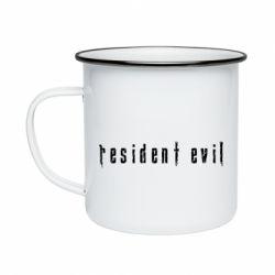 Кружка емальована Resident Evil