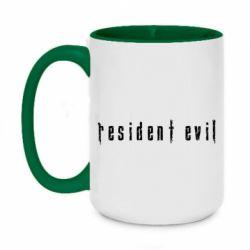Кружка двоколірна 420ml Resident Evil