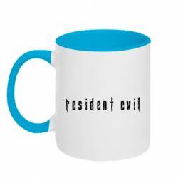 Кружка двоколірна 320ml Resident Evil