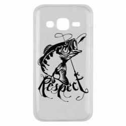 Чохол для Samsung J2 2015 Respect fish