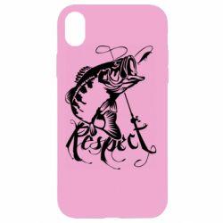 Чохол для iPhone XR Respect fish