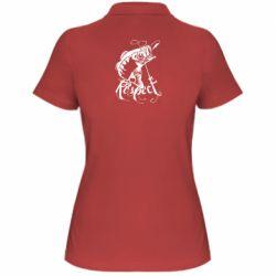 Жіноча футболка поло Respect fish