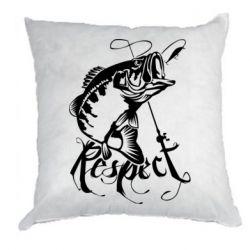 Подушка Respect fish