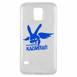 Чехол для Samsung S5 Республика Казантип