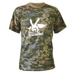 Камуфляжная футболка Республика Казантип - FatLine