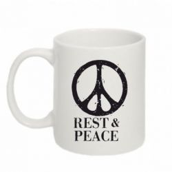 Кружка 320ml Rest & Peace - FatLine