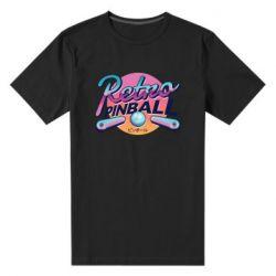 Мужская стрейчевая футболка Retro pinball