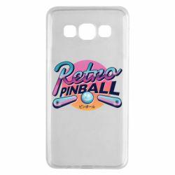 Чехол для Samsung A3 2015 Retro pinball