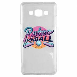 Чехол для Samsung A5 2015 Retro pinball