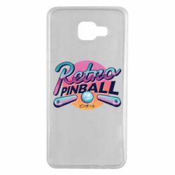 Чехол для Samsung A7 2016 Retro pinball