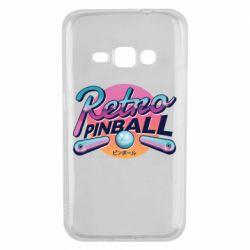 Чехол для Samsung J1 2016 Retro pinball