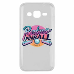 Чехол для Samsung J2 2015 Retro pinball