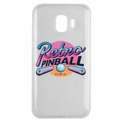 Чехол для Samsung J2 2018 Retro pinball
