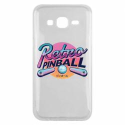 Чехол для Samsung J5 2015 Retro pinball
