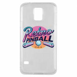 Чехол для Samsung S5 Retro pinball