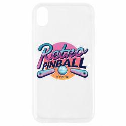 Чехол для iPhone XR Retro pinball