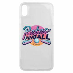 Чехол для iPhone Xs Max Retro pinball