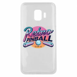 Чехол для Samsung J2 Core Retro pinball