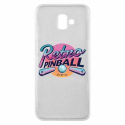 Чехол для Samsung J6 Plus 2018 Retro pinball