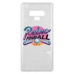 Чехол для Samsung Note 9 Retro pinball