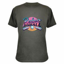 Камуфляжная футболка Retro pinball