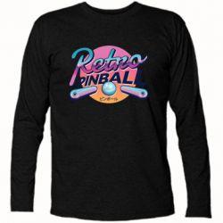 Футболка с длинным рукавом Retro pinball