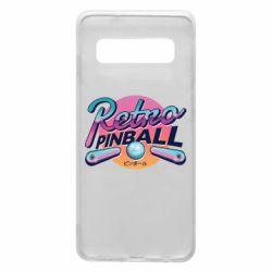 Чехол для Samsung S10 Retro pinball