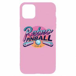 Чехол для iPhone 11 Pro Retro pinball