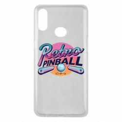 Чехол для Samsung A10s Retro pinball