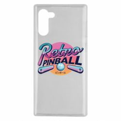 Чехол для Samsung Note 10 Retro pinball