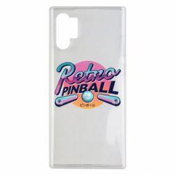 Чехол для Samsung Note 10 Plus Retro pinball