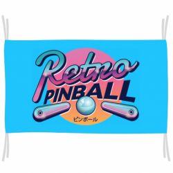 Флаг Retro pinball